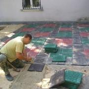 Укладка тротуарной плитки и (брусчатки) с частичной или полной подготовкой основания в Лобне фото