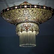 Изготовление витражных предметов лампы, картины, мозаика, сувениры фото