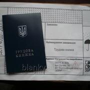 Бланки трудовых книжек (ДП ''ПК ''Заря'') фото