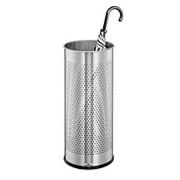 Durable Круглая стальная напольная подставка для зонтов 28,5 л, 620 x 260 мм Цвет Серебристый фото