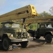 Услуги автовышки ВС-22 на базе ЗИЛ-131, АП-17 на базе ЗИЛ-130 фото