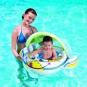 Надувная лодочка с защитой от ультрафиолетовых лучей фото