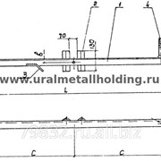 Траверса низковольтная ТН-151,153,156,157 серия 3.407.5-141-68 фото
