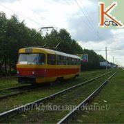 Трамвайная деревянная пропитанная шпала широкой колеи ГОСТ 78 — 89. фотография