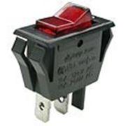 B82L-BROT2 выключатель ON-OFF 250В 16A с красн. подсв. (B120С,SWR62L). фото