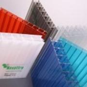 Сотовый поликарбонат цветной 4 мм фото