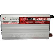 Инвертор 12/220 LUXEON IPS-4000S синусоидный фото