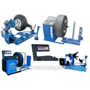 Оборудование для грузового шиномонтажа, грузовой шиномонтаж. фото