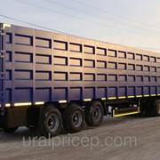 Съемный ломовозный кузов + полуприцеп контейнеровоз 67м3 -74м3 фото