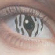 Линзы контактные карнавальные фото