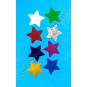 Конфетти фигурное Звезда (d 4,5 см), разноцветный фото