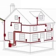 Монтаж электропроводки, внутренняя разводка зданий фото