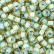 TOHO Окрашенный изнутри радужный светлый топаз/морская пена фото