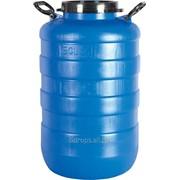 Пластиковая бочка-бидон 50 литров фото