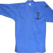 Кимоно для кудо синего цвета фото