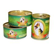 корма для собак (кусочки мяса в желе паштет) фото