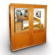 Шкаф Valentino с зеркалами фото