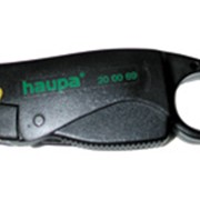 Инструмент для снятия изоляции на коаксиальном кабеле RG58, RG59/62, RG-6, 6QS Haupa фото