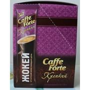 """Кофе Жокей Кафе Форте """"3 в 1"""", в пакетиках, 18х10х20 арт 0948-20 фото"""