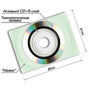 Электронная визитка - носитель информации отличающийся от обычных CD-Room дисков только своей формой. фото