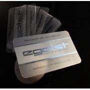 Пластиковые визитные карточки фото