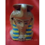 Аромалампа в виде бюста Нефертити фото