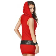 Платье-сарафан с капюшоном от Nastiu n'Sam фото