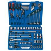 Набор инструментов универсальный, дюймовый, 85 предметов KING TONY 7085SR фото