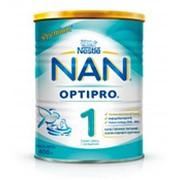 Сухая молочная смесь NAN Optipro 1 с рождения, 400г фото