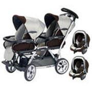 Детские коляски для близнецов фото