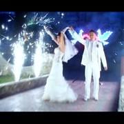 Организация свадебных фейерверков фото