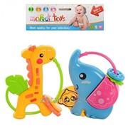 Набор погремушек Moppet Toys 2 шт. 8351A-8 фото