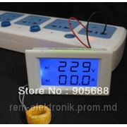Вольт амперметр на переменный ток и напряжение. фото