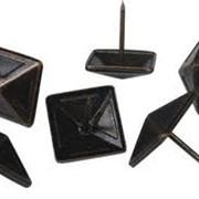 Гвозди мебельные квадратные фото