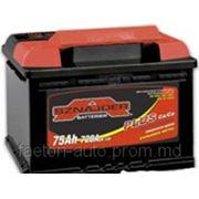 Аккумулятор SZNAJDER Plus 75 L, R фото