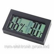 Электронный гигрометр термометр внутренний для инкубаторов фото