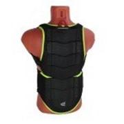 AGVSPORT Защита спины флуоресцентно зеленая фото