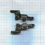 Разъем Micro USB для Huawei P9 (плата с системным разъемом и микрофоном)