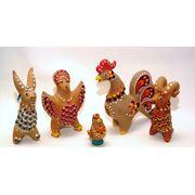 Каргопольская глиняная игрушка фото