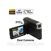 "X5000 1080P Full HD 2.5"" Screen Vehicle Dual Camera DVR фото"