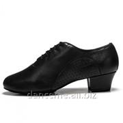 Dance Me Обувь мальчиковая для латины 36078, черная кожа фото