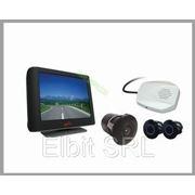 Видео Паркторник LСD камера + 4 датчика EL-217LСD-F4 + голосовой интерфейс фото