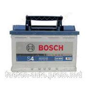 Аккумулятор BOSCH 74 Ah S4 фото