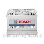 Аккумулятор BOSCH 80Ah S6 фото