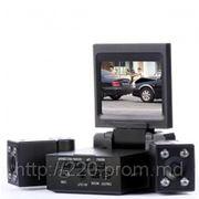 Видеорегистратор Dual DVR H3000 (2 камеры) фото