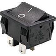 RS-606PABBBT выключатель 2xON-OFF 250В 6A черн. (B1021,SWR71). фото