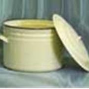 Кастрюли,чайники,миски,кружки,баки,лотки эмалированные фото