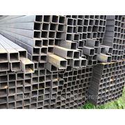 Труба оцинкованная стальная прямоугольная Ду 60х60х2,0 по ГОСТ 8645-68, 8639-82 фото