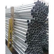Труба оцинкованная стальная электросварная круглая Ду 40х3,5 общего назначения по ГОСТ 10704-91, ГОСТ 10705-80 фото