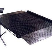 Весы платформенные электронные 500 кг, шкала 0,10 кг. фото